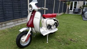 1961 Lambretta Li150 £4250 ONO plate valued at £800