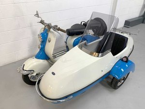 1955 Lambretta LD 150 Combination