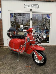 "Lambretta li 125 /200 cc Italian scooter ""OTHERS IN STOCK"""