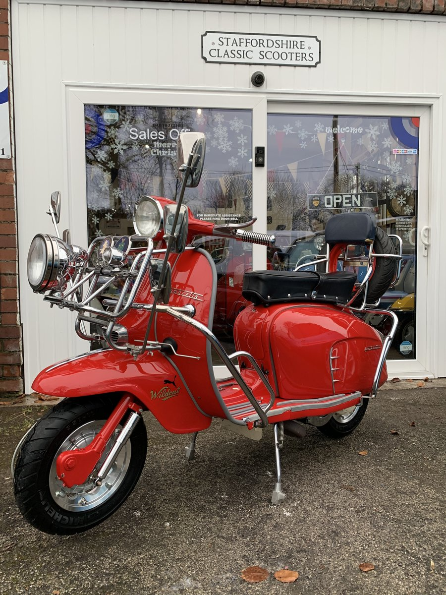 "1963 Lambretta li 125 /200 cc Italian scooter ""OTHERS IN STOCK"" For Sale (picture 3 of 6)"