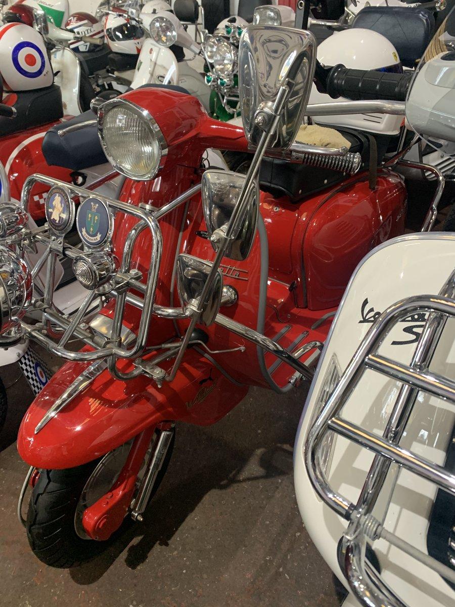 "1963 Lambretta li 125 /200 cc Italian scooter ""OTHERS IN STOCK"" For Sale (picture 5 of 6)"