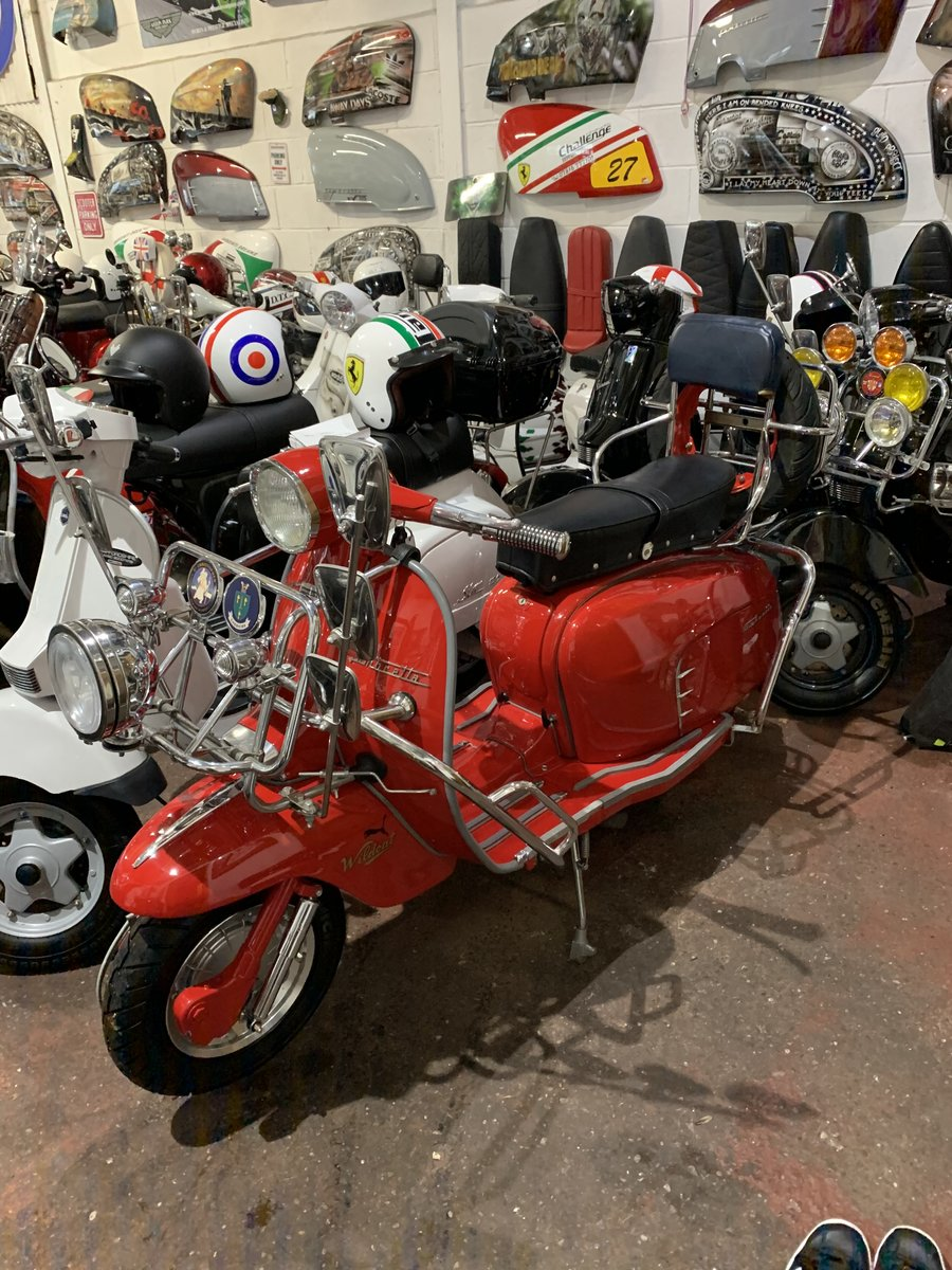 "1963 Lambretta li 125 /200 cc Italian scooter ""OTHERS IN STOCK"" For Sale (picture 6 of 6)"