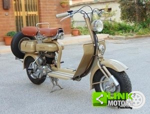 LAMBRETTA 125 C DEL 1951, COLOR CAMOSCIO, RISTRUTTURATA, IS For Sale