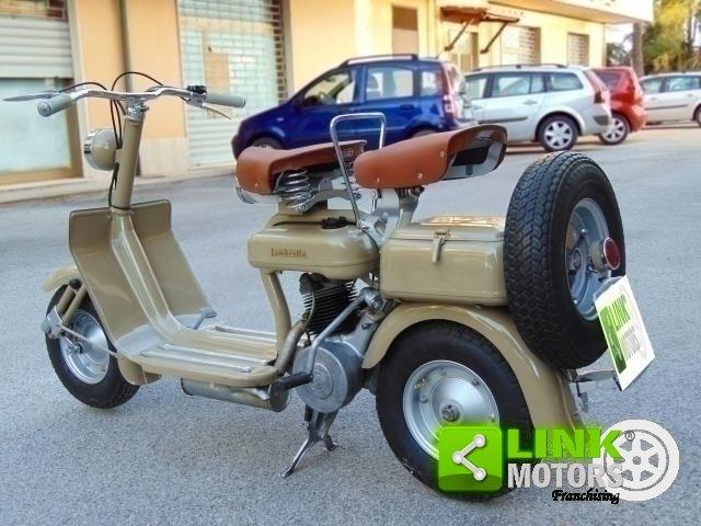 LAMBRETTA 125 C DEL 1951, COLOR CAMOSCIO, RISTRUTTURATA, IS For Sale (picture 3 of 6)