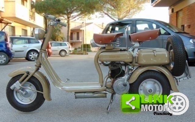 LAMBRETTA 125 C DEL 1951, COLOR CAMOSCIO, RISTRUTTURATA, IS For Sale (picture 5 of 6)
