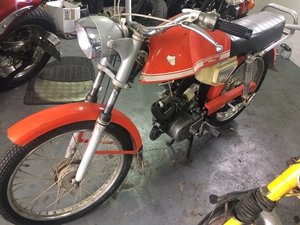 1973 Lambretta MOPED - very 70's