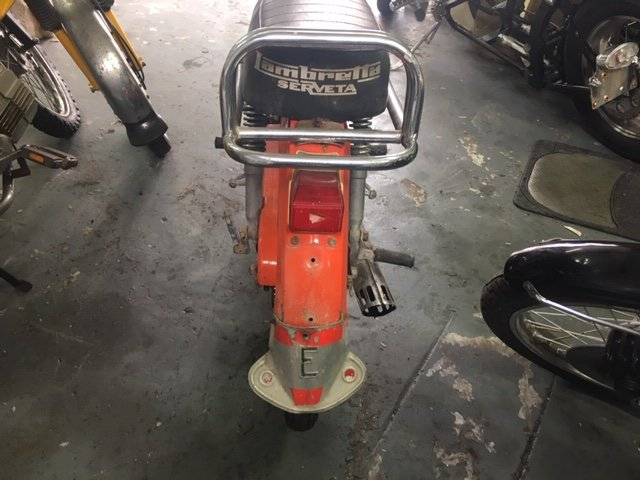 1973 Lambretta MOPED - very 70's For Sale (picture 3 of 3)
