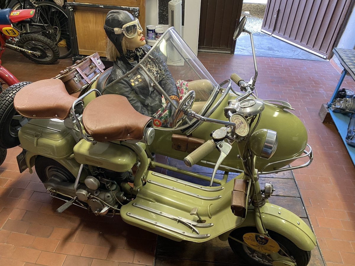 1952 Lambretta 125 D Sidecar Longhi For Sale (picture 2 of 5)