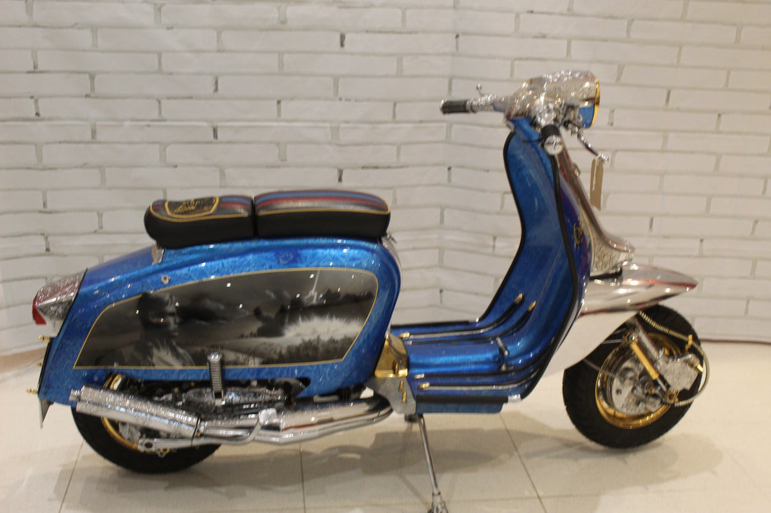 1962 Lambretta series 2 SX 125 , Heavily customized For Sale (picture 1 of 4)