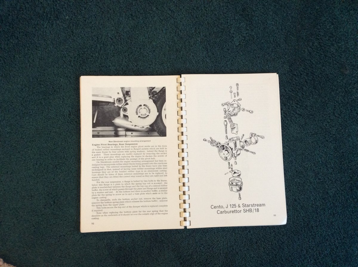 VERY RARE LAMBRETTE WORKSHOP MANUAL For Sale (picture 3 of 4)