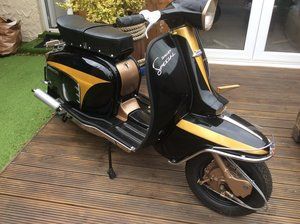 Lambretta, totally rebuilt