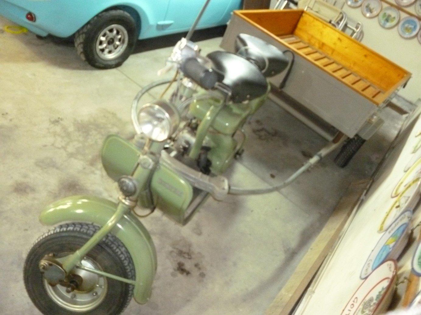 1954 Lambretta 150 D trailer For Sale (picture 4 of 6)