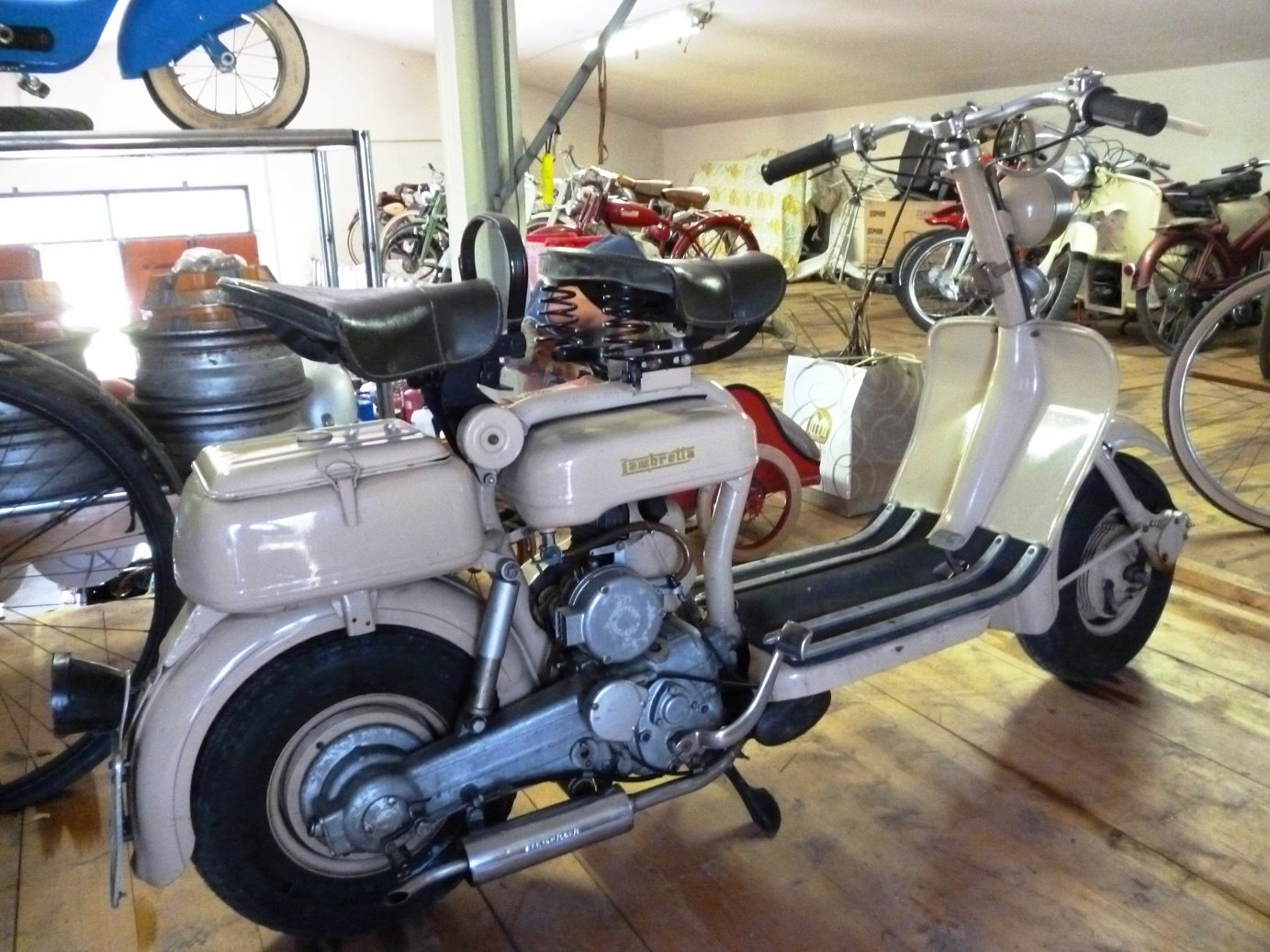 1955 Lambretta 150 D For Sale (picture 1 of 6)