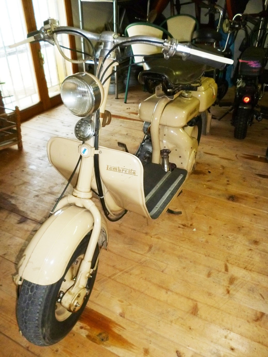 1955 Lambretta 150 D For Sale (picture 5 of 6)