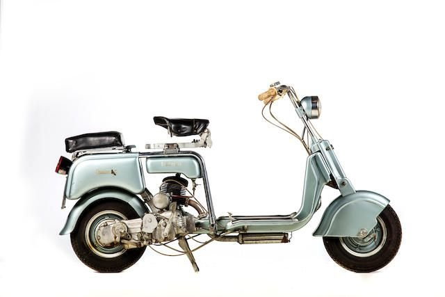 C.1948 LAMBRETTA 125CC TIPO B MOTOR SCOOTER (LOT 617) SOLD by Auction (picture 1 of 1)