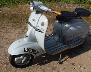 1960 Lamretta TV175  Scooter Original UK registered example