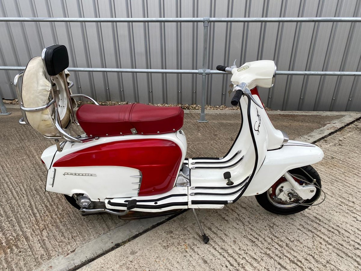 1966 An Italian built Lambretta LI150 Special SOLD (picture 1 of 6)