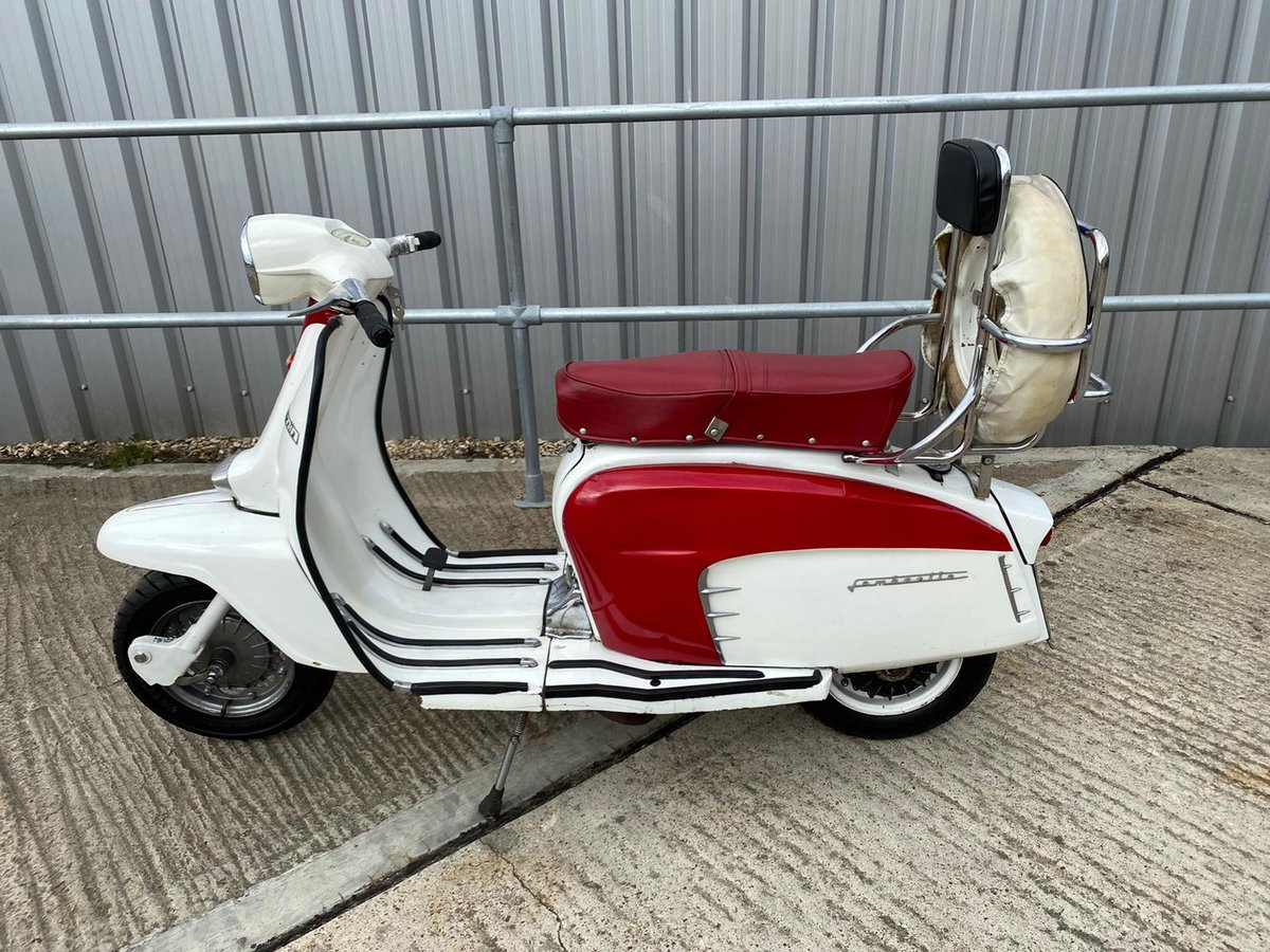 1966 An Italian built Lambretta LI150 Special SOLD (picture 2 of 6)