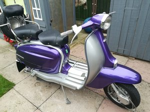Classic investment sought after Italian Lambretta,