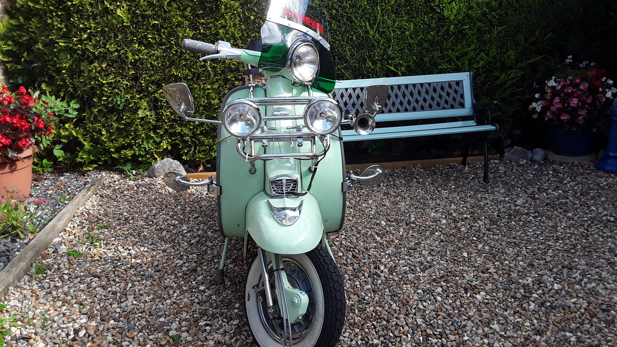 1962 Lambretta s3 Li125 SOLD (picture 1 of 5)