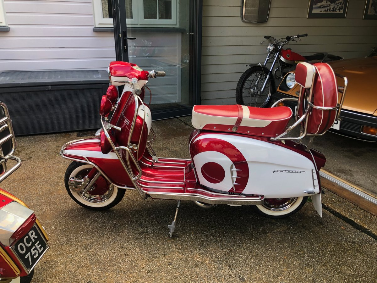 1966 Stunning Li 150 Special Fully Restored For Sale (picture 1 of 6)