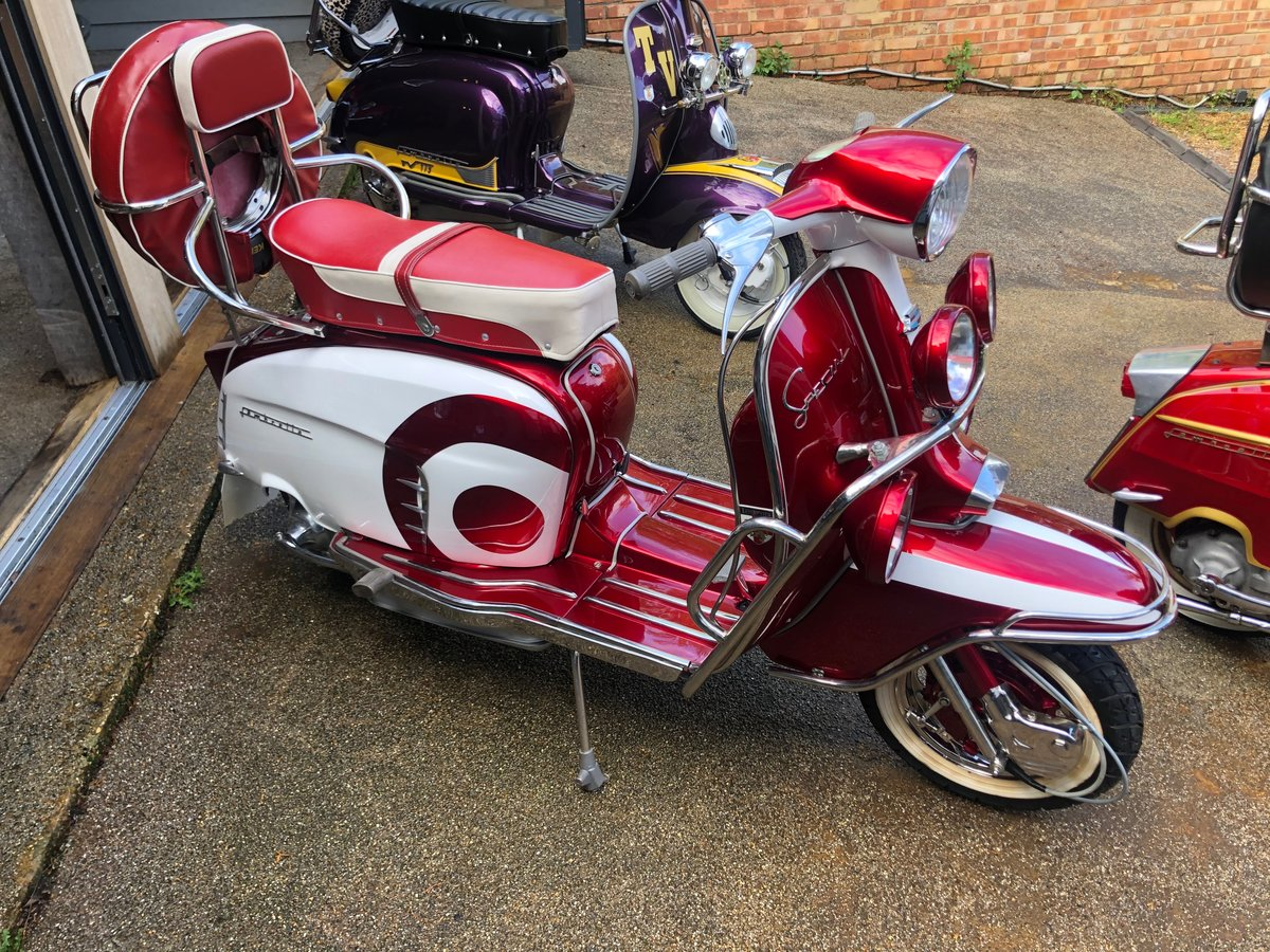 1966 Stunning Li 150 Special Fully Restored For Sale (picture 2 of 6)