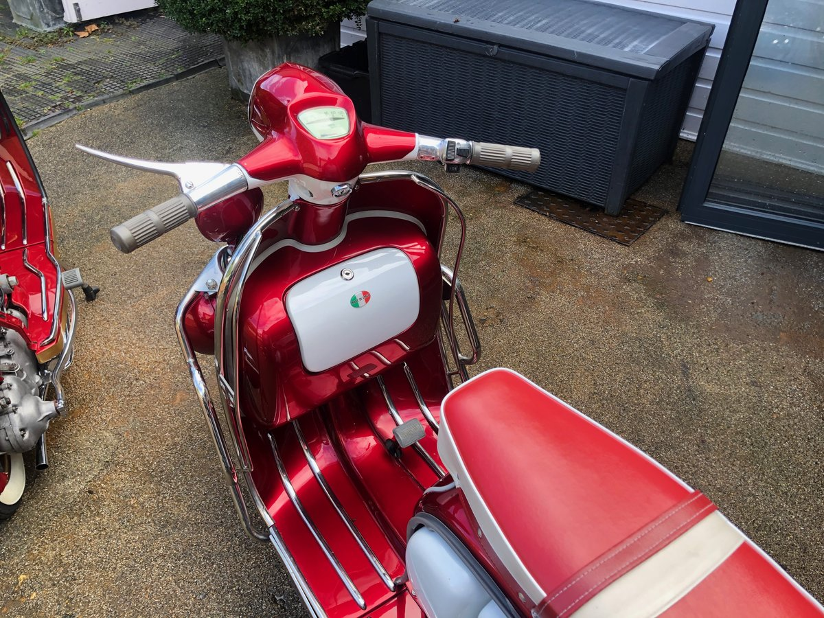 1966 Stunning Li 150 Special Fully Restored For Sale (picture 3 of 6)