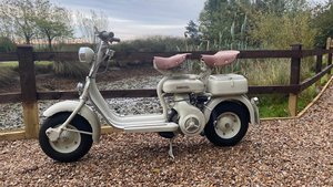 Lambretta 150D-1956-Nut and Bolt restoration in the UK