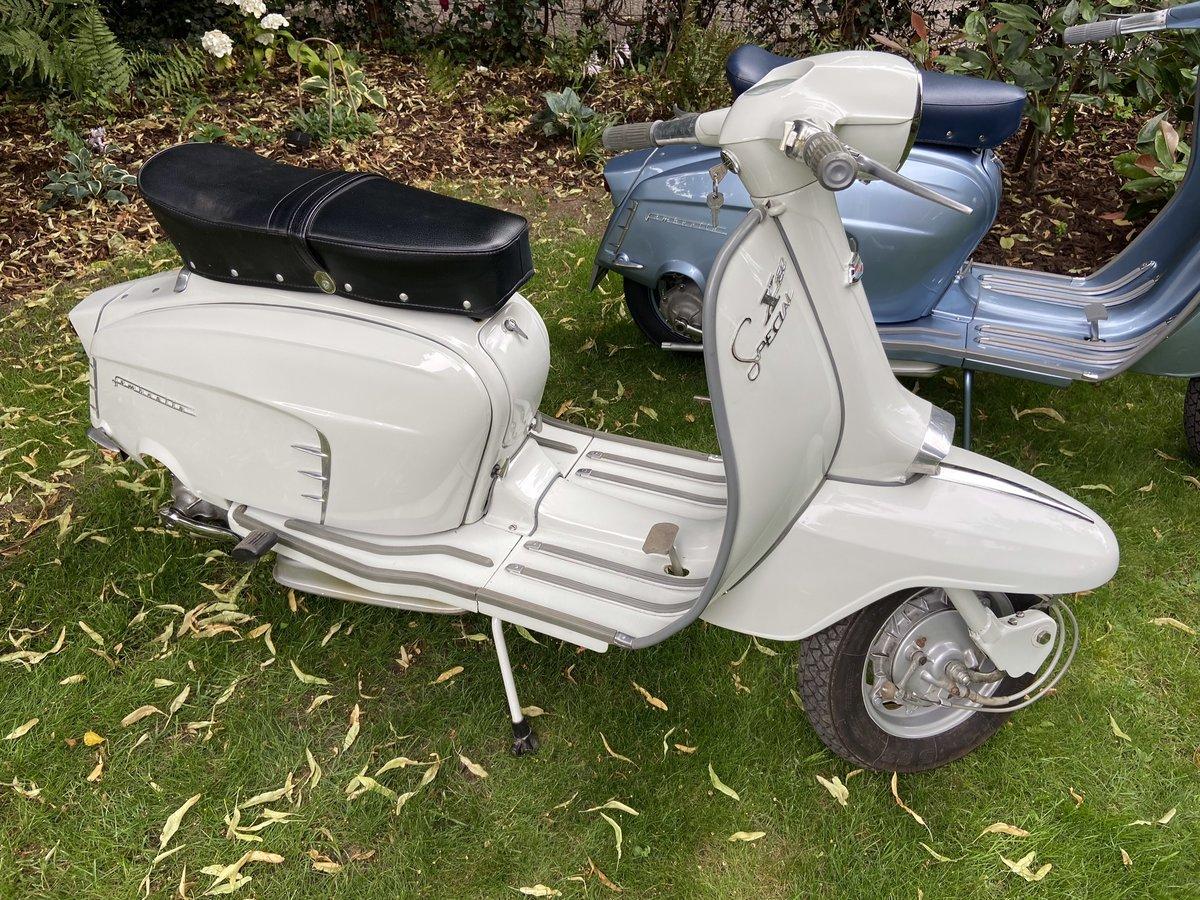 1967 Superb restored italian lambretta sx150 For Sale (picture 1 of 6)