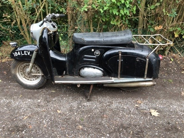 Picture of 1958 British German or Italian Scooter Wanted. For Sale