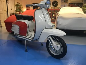 Lambretta GT200. British First registered 1964