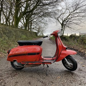 Lambretta DL150 Original Paint