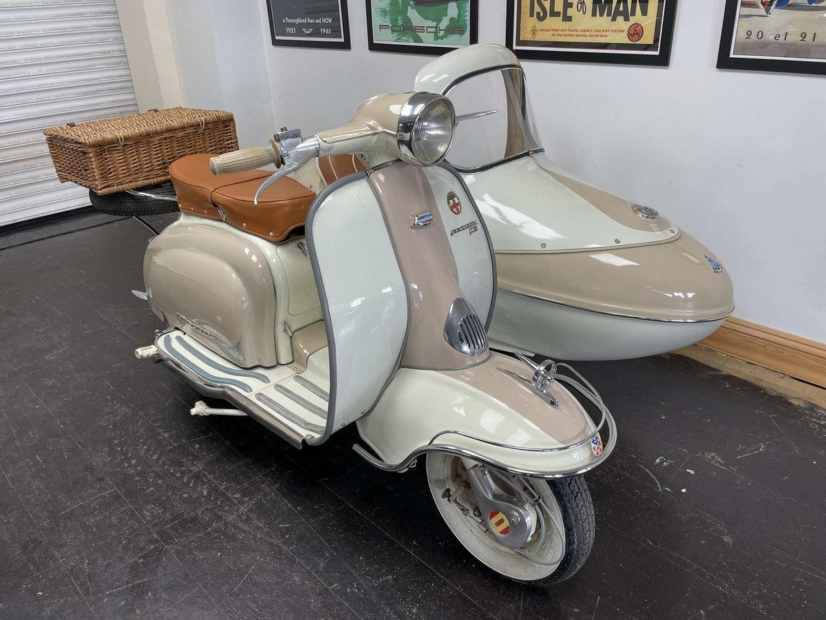 1961 Lambretta Li125 (Srs 2) Combination For Sale by Auction (picture 1 of 26)