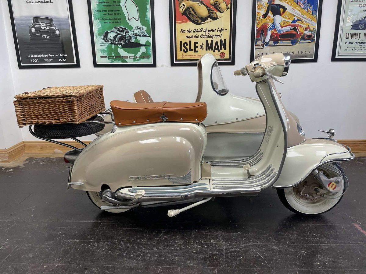 1961 Lambretta Li125 (Srs 2) Combination For Sale by Auction (picture 2 of 26)