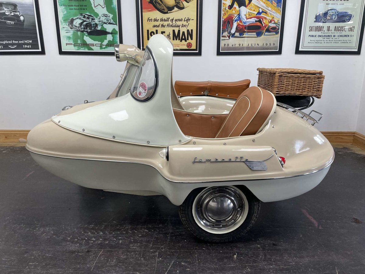 1961 Lambretta Li125 (Srs 2) Combination For Sale by Auction (picture 3 of 26)