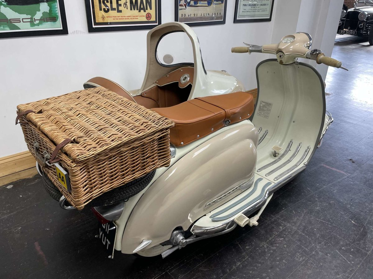 1961 Lambretta Li125 (Srs 2) Combination For Sale by Auction (picture 5 of 26)