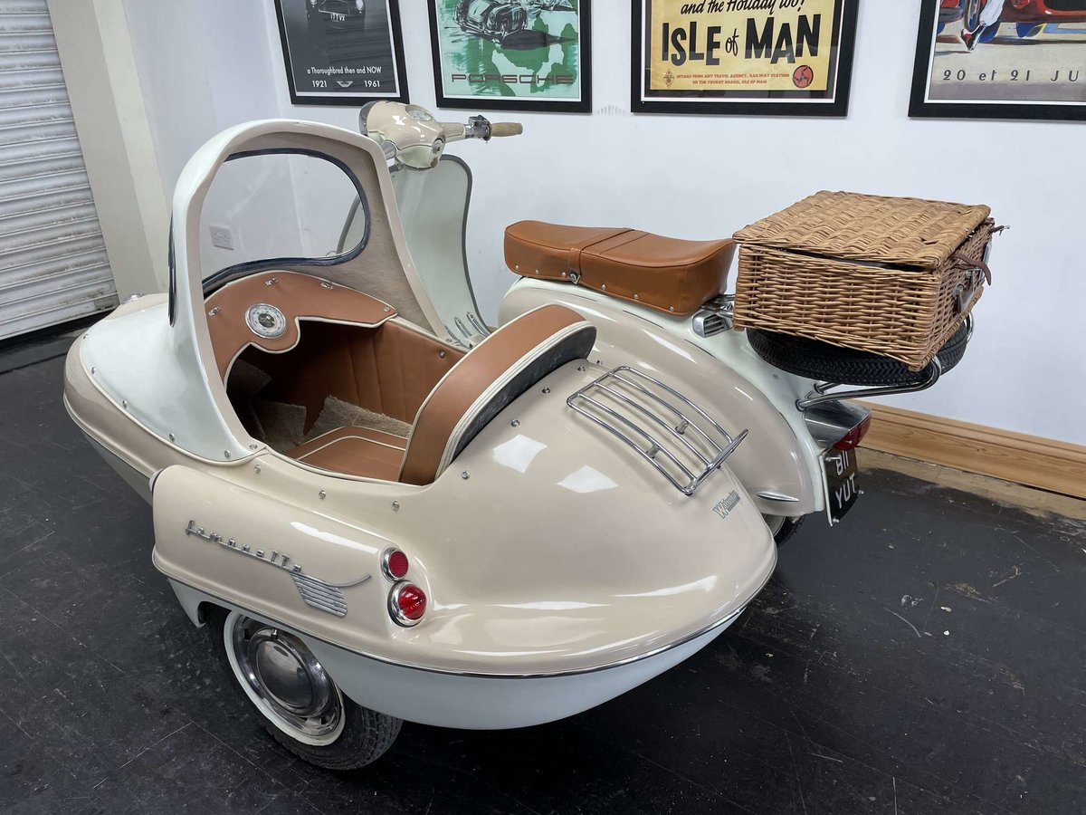 1961 Lambretta Li125 (Srs 2) Combination For Sale by Auction (picture 6 of 26)