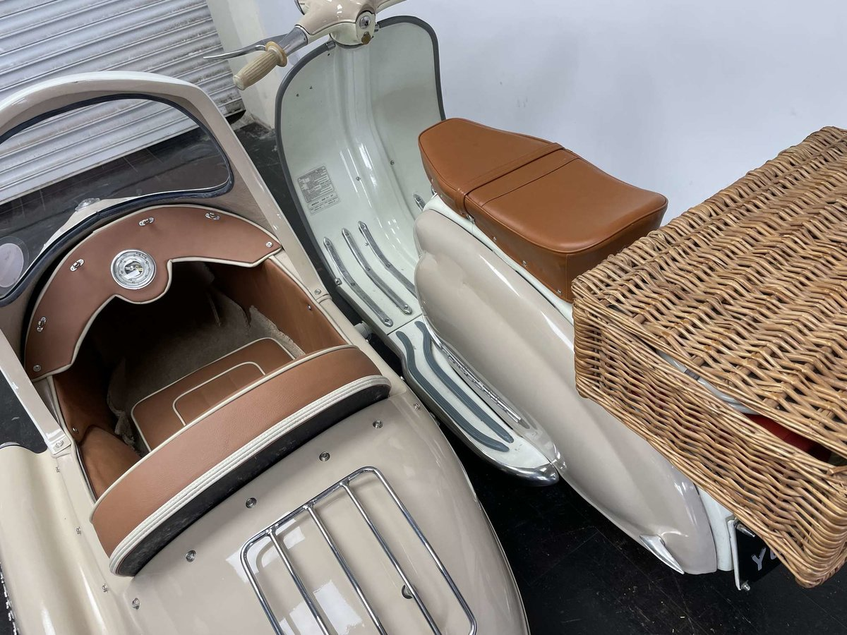 1961 Lambretta Li125 (Srs 2) Combination For Sale by Auction (picture 8 of 26)