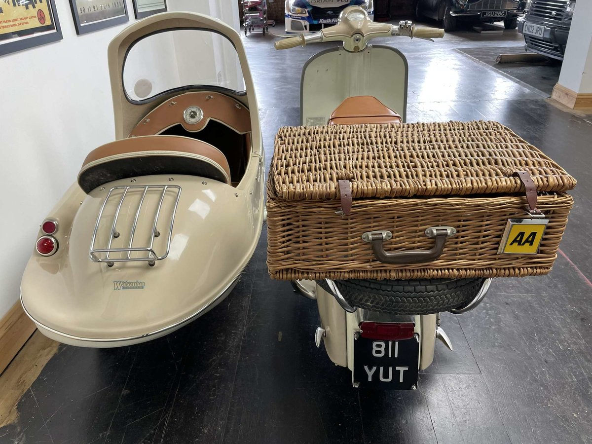 1961 Lambretta Li125 (Srs 2) Combination For Sale by Auction (picture 11 of 26)