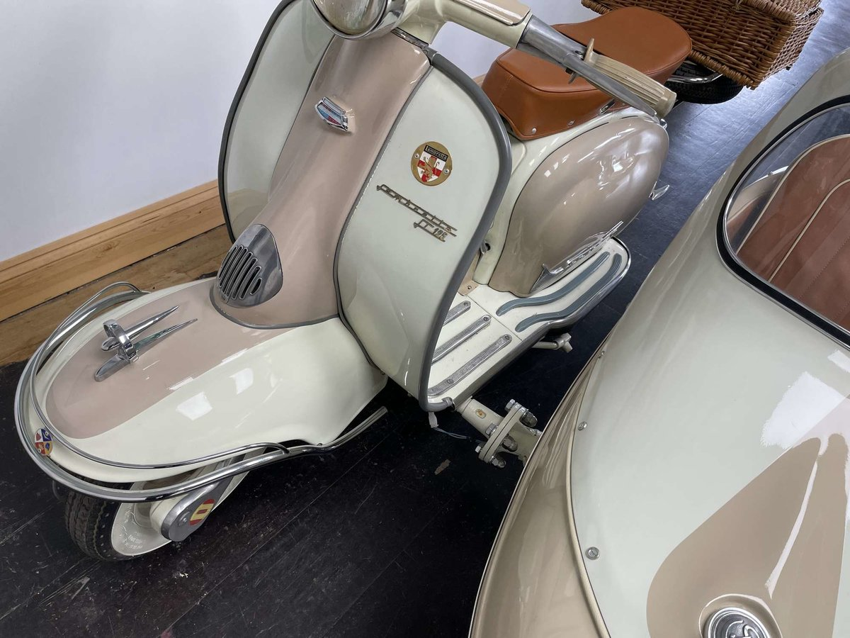 1961 Lambretta Li125 (Srs 2) Combination For Sale by Auction (picture 21 of 26)