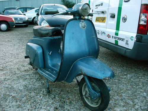 1965 lambretta J50 '50cc' Scooter For Sale (picture 1 of 6)