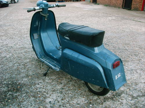 1965 lambretta J50 '50cc' Scooter For Sale (picture 3 of 6)