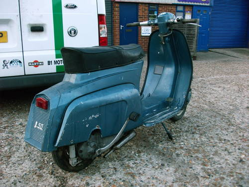 1965 lambretta J50 '50cc' Scooter For Sale (picture 4 of 6)