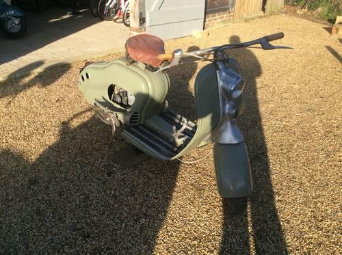 Lambretta 125 1950 LC project For Sale (picture 1 of 6)