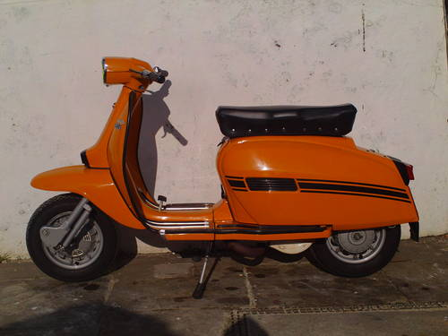 1969 LAMBRETTA GP200 INNOCENTI SOLD (picture 3 of 6)
