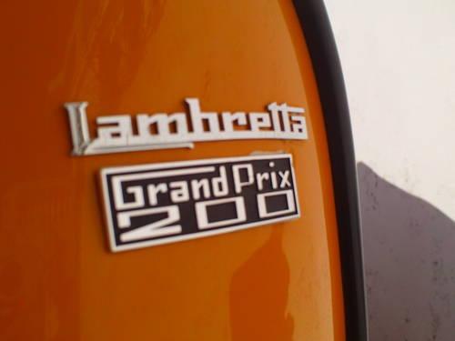 1969 LAMBRETTA GP200 INNOCENTI SOLD (picture 5 of 6)