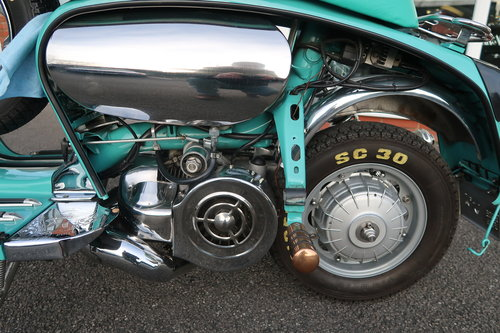 1969 Italian Lambretta GP125 Scooter Customised 190cc SOLD (picture 4 of 6)