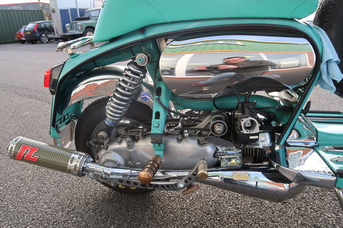 1969 Italian Lambretta GP125 Scooter Customised 190cc SOLD (picture 5 of 6)