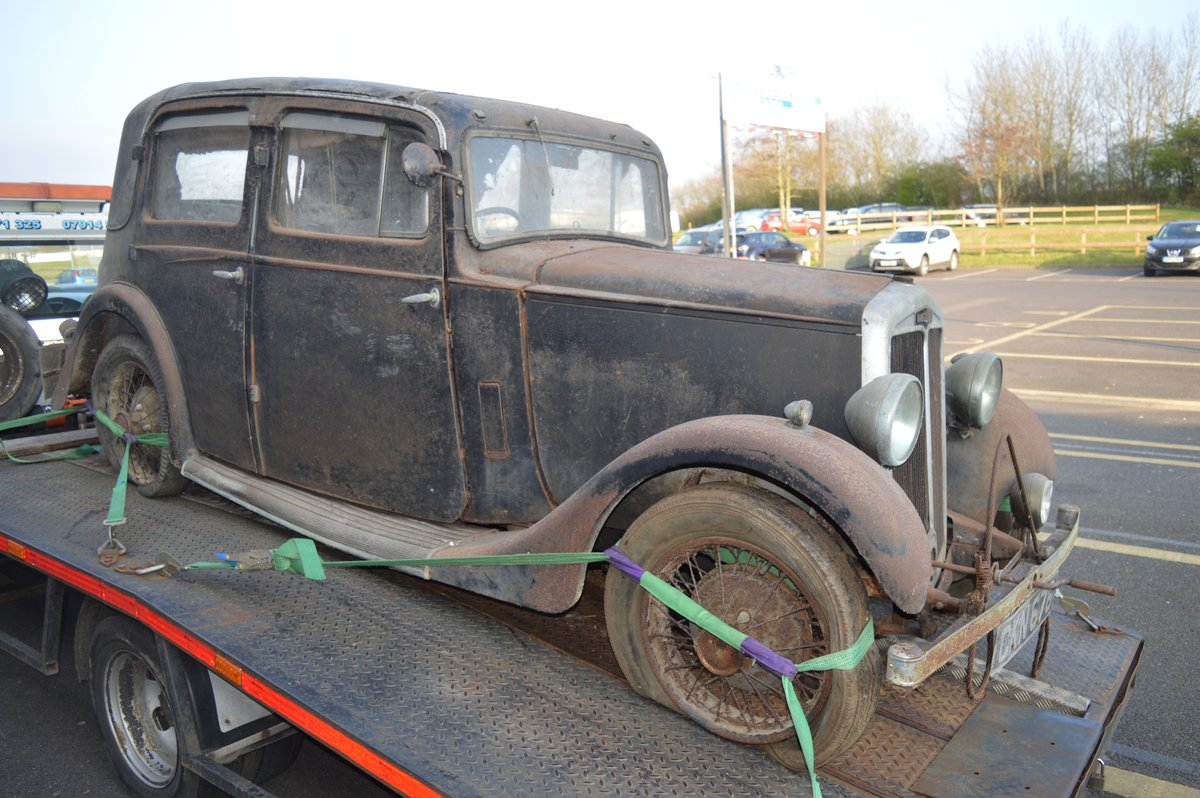 1936 Barn find Lanchester 10 for Auction Friday 12th July  SOLD by Auction (picture 3 of 6)