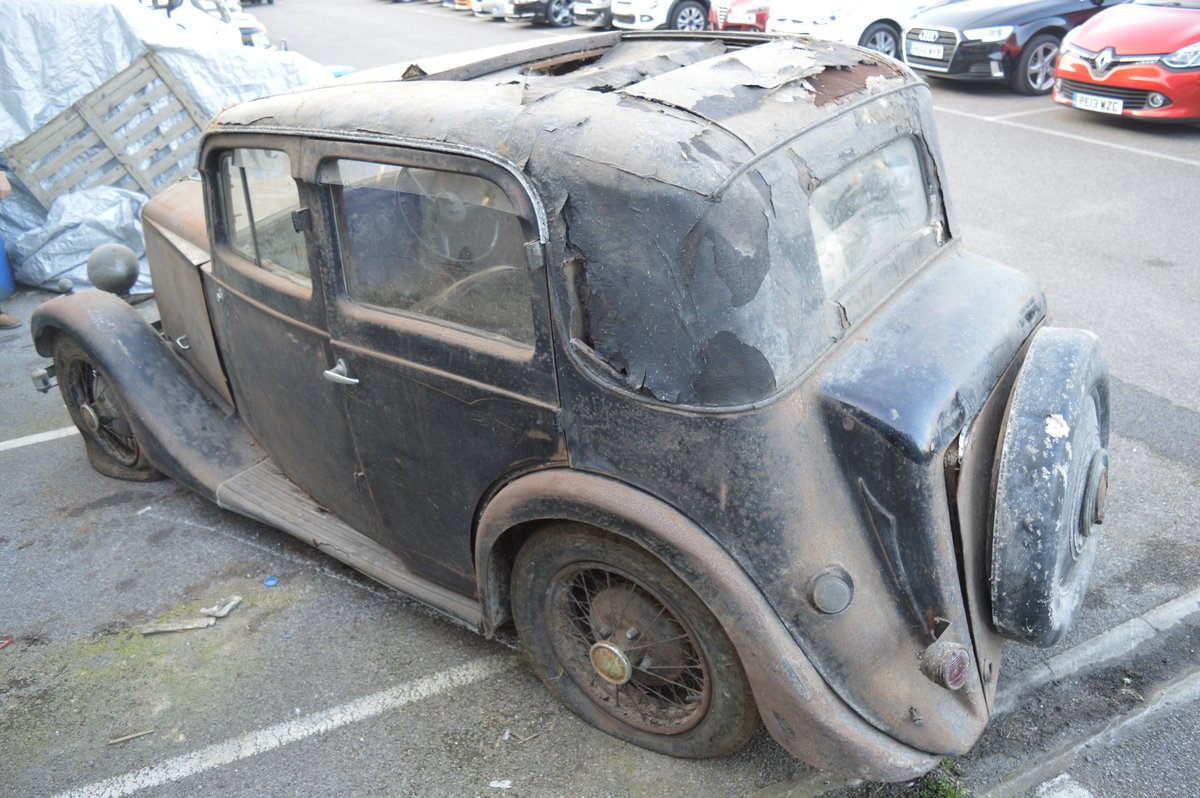 1936 Barn find Lanchester 10 for Auction Friday 12th July  SOLD by Auction (picture 6 of 6)
